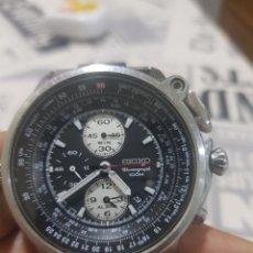 Relojes - Seiko: RELOJ SEIKO CRONOGRAFO DIFICIL DE ENCONTRAR. Lote 203408121