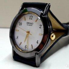 Relojes - Seiko: BELLO RELOJ SEIKO TAMAÑO CADETE AÑOS 80 DE CUARZO CALIBRE 5Y95 Y NUEVO. Lote 204445560