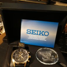 Relojes - Seiko: SEIKO 50 ANIVERSARIO QUARTZ WATCH. SERIE LIMITADA. NUEVO. 2 AÑOS DE GARANTÍA.. Lote 204721575
