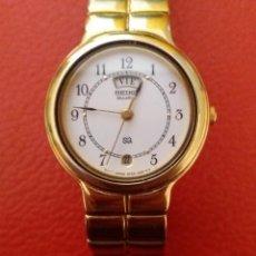 Relojes - Seiko: RELOJ SEIKO QUARTZ CALENDARIO, COMO NUEVO.. Lote 205275278