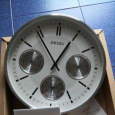 Relojes - Seiko: RELOJ PARED SEIKO A ESTRENAR. Lote 205579052