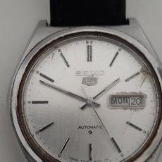 Relojes - Seiko: RELOJ SEIKO AUTOMATIC. FUNCIONA. RETRASA.. Lote 205819208