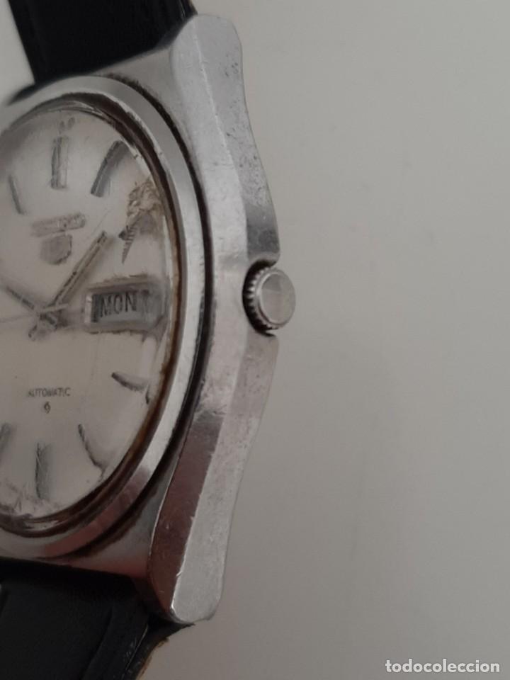 Relojes - Seiko: RELOJ SEIKO AUTOMATIC. FUNCIONA. RETRASA. - Foto 3 - 205819208