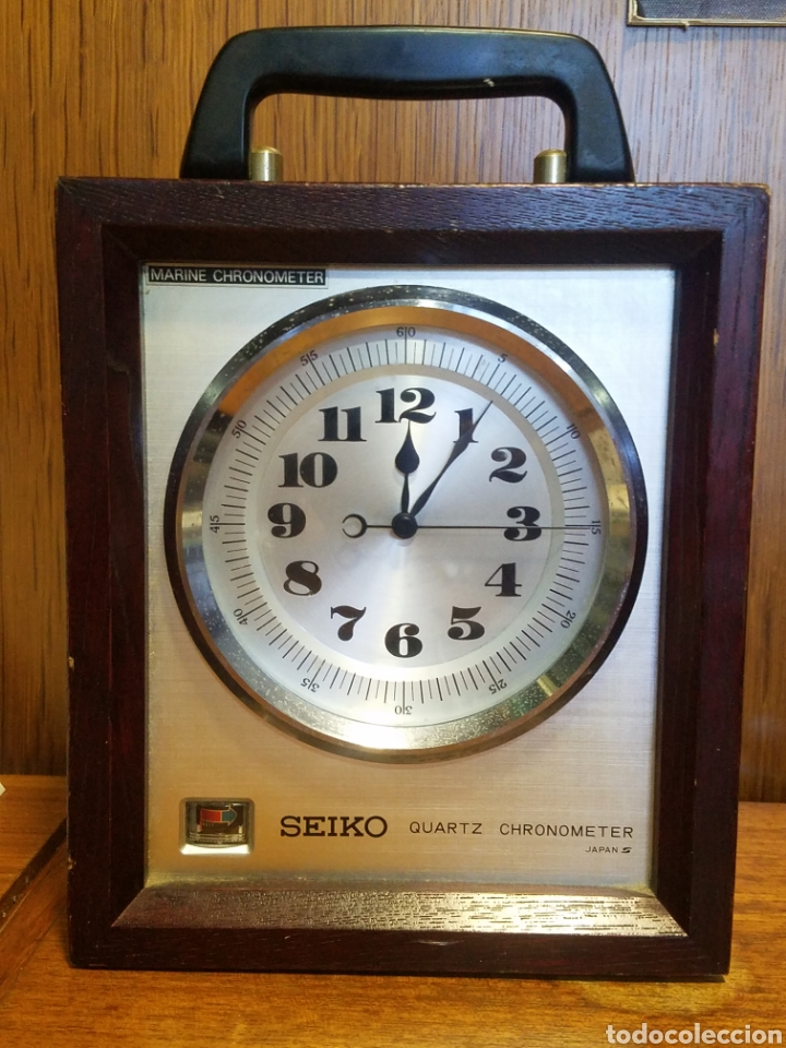 PRECISION SEIKO QM-10 JAPÓN BARCOS MARINA CUARZO CRONÓMETRO RELOJ QM10 (Relojes - Relojes Actuales - Seiko)