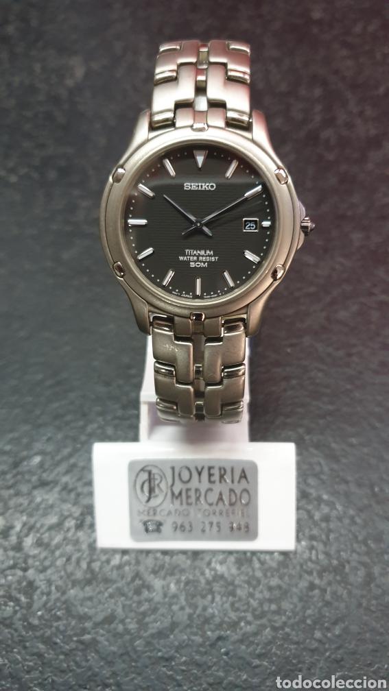 JOYERIA DEL MERCADO SEIKO TITANIUM (Relojes - Relojes Actuales - Seiko)