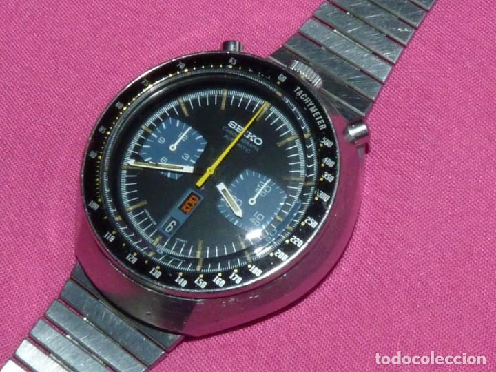 IMPRESIONANTE RELOJ SEIKO BULLHEAD CHRONOGRAFO 6138-0040 CALIBRE 6138B AUTOMATICO 1976 21 RUBIS (Relojes - Relojes Actuales - Seiko)