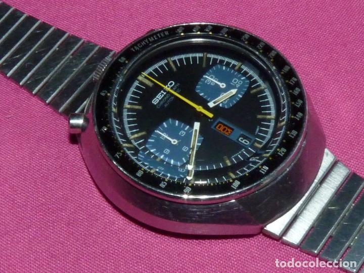 Relojes - Seiko: Impresionante reloj Seiko bullhead Chronografo 6138-0040 calibre 6138B Automatico 1976 21 rubis - Foto 2 - 206493197
