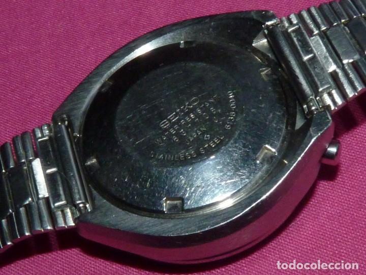 Relojes - Seiko: Impresionante reloj Seiko bullhead Chronografo 6138-0040 calibre 6138B Automatico 1976 21 rubis - Foto 7 - 206493197