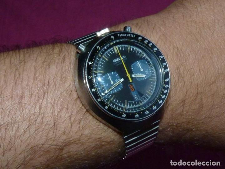 Relojes - Seiko: Impresionante reloj Seiko bullhead Chronografo 6138-0040 calibre 6138B Automatico 1976 21 rubis - Foto 12 - 206493197