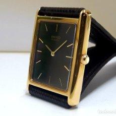 Relógios - Seiko: ELEGANTE RELOJ SEIKO CHAPADO EN ORO DE CUARZO CALIBRE 6530 Y NUEVO A ESTRENAR. Lote 207022662