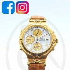 Relógios - Seiko: JOYERÍA DEL MERCADO SEIKO CHRONOGRAPH. Lote 207093047
