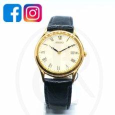 Relógios - Seiko: JOYERÍA DEL MERCADO SEIKO CABALLERO CHAPADO. Lote 207114028