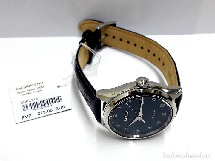 Relojes - Seiko: RELOJ SEIKO AUTOMÁTICO ESFERA AZUL CALIBRE 4R35 NUEVO A ESTRENAR - Foto 5 - 208356576
