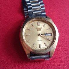 Relógios - Seiko: RELOJ SEIKO AUTOMATIC NO FUNCIONA Y LE FALTA EL CRISTAL .MIDE 35MM DIAMETRO. Lote 208368852