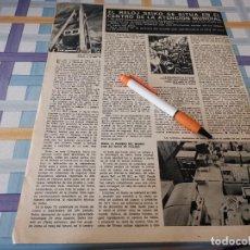 Relógios - Seiko: RELOJ SEIKO CENTRO DE LA ATENCIÓN MUNDIAL ANUNCIO PUBLICIDAD REVISTA 1971. Lote 208390108