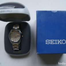 Relojes - Seiko: SEIKO KINETIC 5M43 - 0C80 RELOJ CON ARMYS ACERO ORIGINAL + CAJA SEIKO 40MM. Lote 209260800