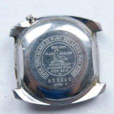Relojes - Seiko: RARO SEIKO M330 SEALION 6106 - 9010 CAJA + CALIBRE PARA PIEZAS. Lote 209873956