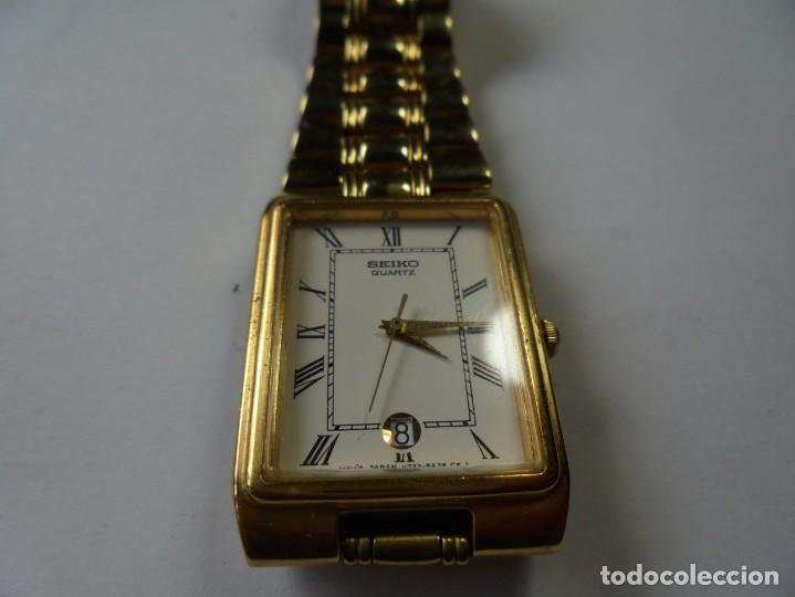 MAGNIFICO RELOJ SEIKO DE QUARZO DE CABALLERO FUNCIONANDO BIEN (Relojes - Relojes Actuales - Seiko)