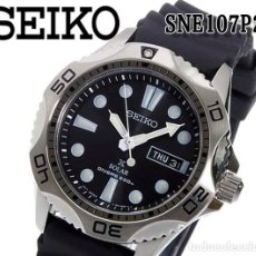Relojes - Seiko: SEIKO SOLAR SCUBA DIVER SPORTS SNE107P2 200 METROS SUMERGIBLE. ECOLÓGICO. NUEVO A ESTRENAR. Lote 196002070