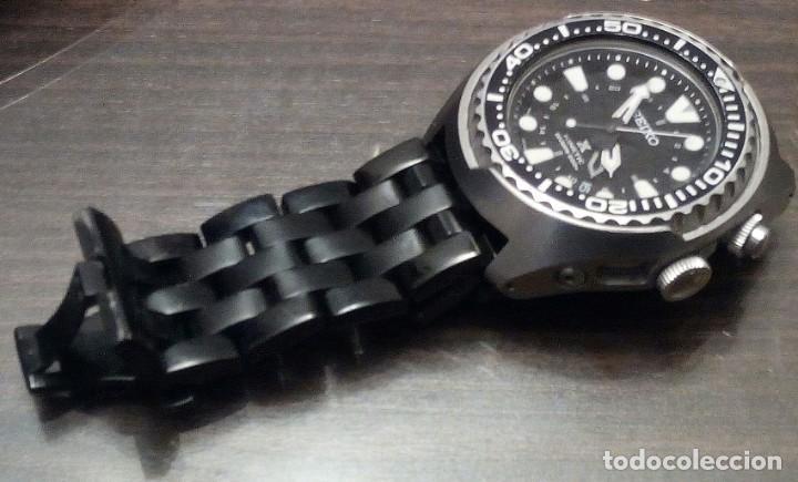"""Relojes - Seiko: SEIKO KINETIC Ref. SUN019P1 DIVER- CRISTAL ZAFIRO. CONOCIDO COMO The Vader-Tuna-Turtle or """"VaTT - Foto 21 - 195053058"""