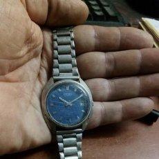 Relojes - Seiko: RELOJ CABALLERO SEIKO AUTOMATIC 17 JEWELS 7005 8210--4 N 3636..ESFERA AZUL JAPAN 7005-8340R. 1975. Lote 212920816