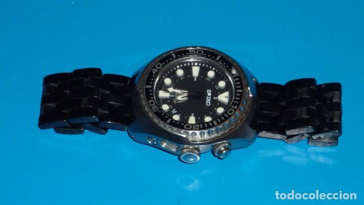 """Relojes - Seiko: SEIKO KINETIC Ref. SUN019P1 DIVER- CRISTAL ZAFIRO. CONOCIDO COMO The Vader-Tuna-Turtle or """"VaTT - Foto 20 - 195053058"""