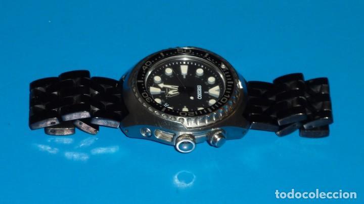 """Relojes - Seiko: SEIKO KINETIC Ref. SUN019P1 DIVER- CRISTAL ZAFIRO. CONOCIDO COMO The Vader-Tuna-Turtle or """"VaTT - Foto 6 - 195053058"""