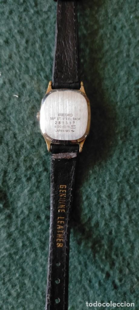 Relojes - Seiko: RELOJ PULSERA SEIKO DOBLE CALENDARIO. JAPAN - Foto 3 - 214335033