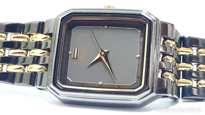 Relojes - Seiko: PEQUEÑO RELOJ VINTAGE SEIKO DE SEÑORA AÑOS 80 DE CUARZO Y NUEVO A ESTRENAR - Foto 2 - 215428263