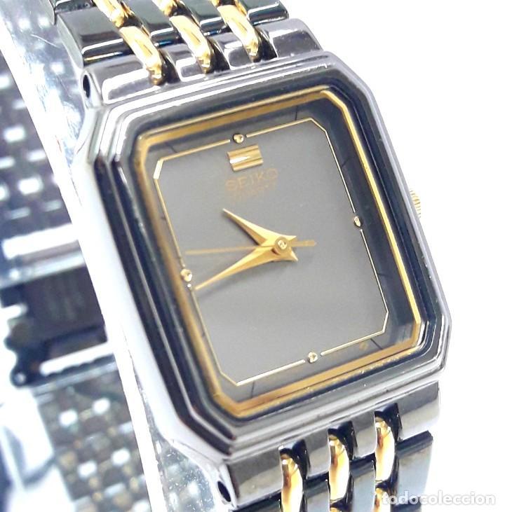 Relojes - Seiko: PEQUEÑO RELOJ VINTAGE SEIKO DE SEÑORA AÑOS 80 DE CUARZO Y NUEVO A ESTRENAR - Foto 9 - 215428263