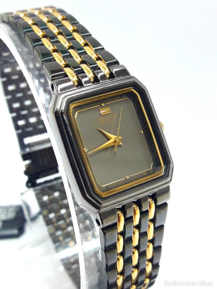 Relojes - Seiko: PEQUEÑO RELOJ VINTAGE SEIKO DE SEÑORA AÑOS 80 DE CUARZO Y NUEVO A ESTRENAR - Foto 10 - 215428263