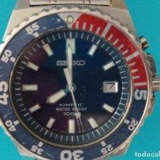 Relojes - Seiko: SEIKO KINETIC 100 M. Lote 217163977