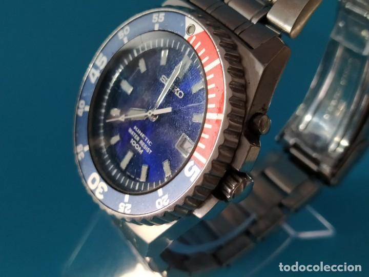 Relojes - Seiko: SEIKO KINETIC 100 M - Foto 2 - 217163977