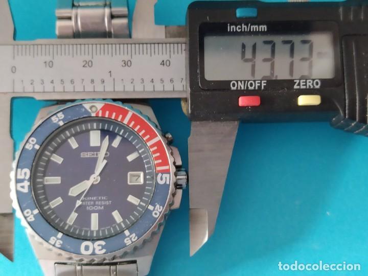 Relojes - Seiko: SEIKO KINETIC 100 M - Foto 11 - 217163977