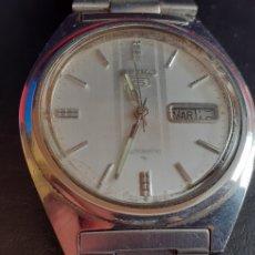 Relojes - Seiko: RELOJ SEIKO 5 AUTOMATICO FUNCIONA PERFECTAMENTE .MIDE 38MM DIAMETRO. Lote 218210053