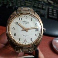 Relojes - Seiko: RELOJ SEIKO 7005-8030.- 8050R..BLANCO. Lote 218236276