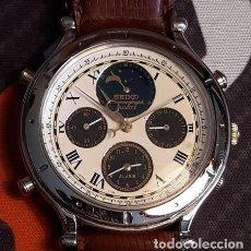 Relojes - Seiko: RELOJ CABALLERO SEIKO. MOONPHASE. Lote 218237662