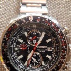 Relojes - Seiko: RELOJ SEIKO CHRONOGRAPH FLIGHT MASTER PILOT 100M SNAD05P1 - ÚNICO EN TODOCOLECCIÓN. Lote 218743220