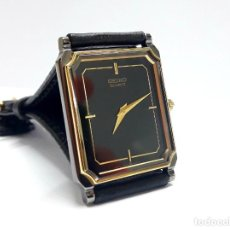 Relojes - Seiko: ELEGANTE Y PLANO RELOJ SEIKO AÑOS 80 DE CUARZO Y NUEVO A ESTRENAR. Lote 219216155