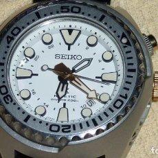 Relojes - Seiko: SEIKO PROSPEX KINETIC REF. SUN043P1 EDICIÓN ESPECIAL CONOCIDO COMO LA BESTIA BLANCA. THE YETI. Lote 212779185