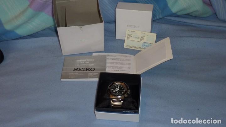 Relojes - Seiko: SEIKO CRONO CAESAR Ref. SNDA13P1 Excelente estado. - Foto 14 - 193573225
