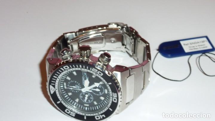 Relojes - Seiko: SEIKO CRONO CAESAR Ref. SNDA13P1 Excelente estado. - Foto 17 - 193573225