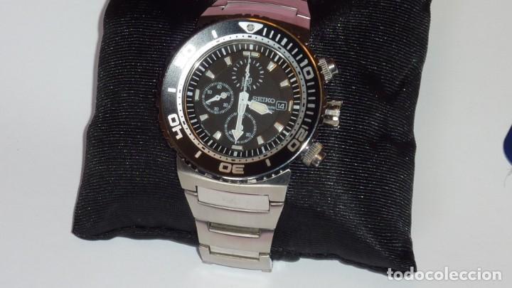 Relojes - Seiko: SEIKO CRONO CAESAR Ref. SNDA13P1 Excelente estado. - Foto 23 - 193573225