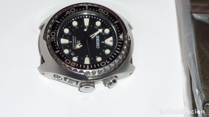 """Relojes - Seiko: SEIKO KINETIC Ref. SUN019P1 DIVER- CRISTAL ZAFIRO. CONOCIDO COMO The Vader-Tuna-Turtle or """"VaTT - Foto 24 - 195053058"""