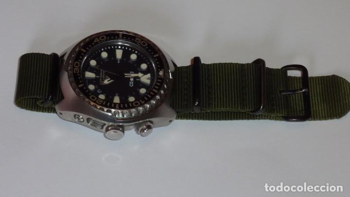 """Relojes - Seiko: SEIKO KINETIC Ref. SUN019P1 DIVER- CRISTAL ZAFIRO. CONOCIDO COMO The Vader-Tuna-Turtle or """"VaTT - Foto 31 - 195053058"""