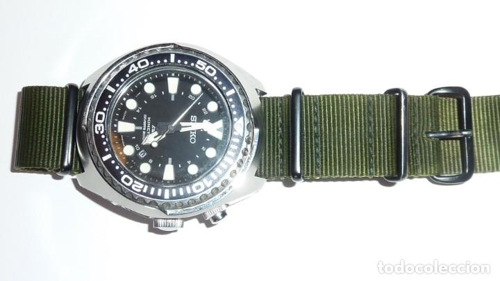 """Relojes - Seiko: SEIKO KINETIC Ref. SUN019P1 DIVER- CRISTAL ZAFIRO. CONOCIDO COMO The Vader-Tuna-Turtle or """"VaTT - Foto 33 - 195053058"""