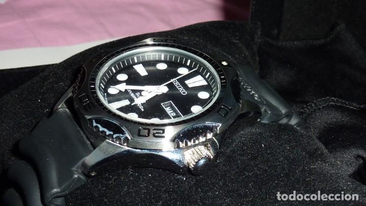 Relojes - Seiko: Seiko Solar Scuba Diver Sports SNE107P2 200 metros sumergible. Ecológico. NUEVO A ESTRENAR - Foto 4 - 196002070
