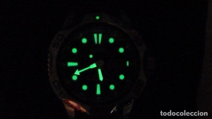 Relojes - Seiko: Seiko Solar Scuba Diver Sports SNE107P2 200 metros sumergible. Ecológico. NUEVO A ESTRENAR - Foto 9 - 196002070