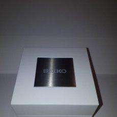 Relojes - Seiko: ESTUCHE RELOJ MARCA SEIKO. COLOR BLANCO.. Lote 220929543