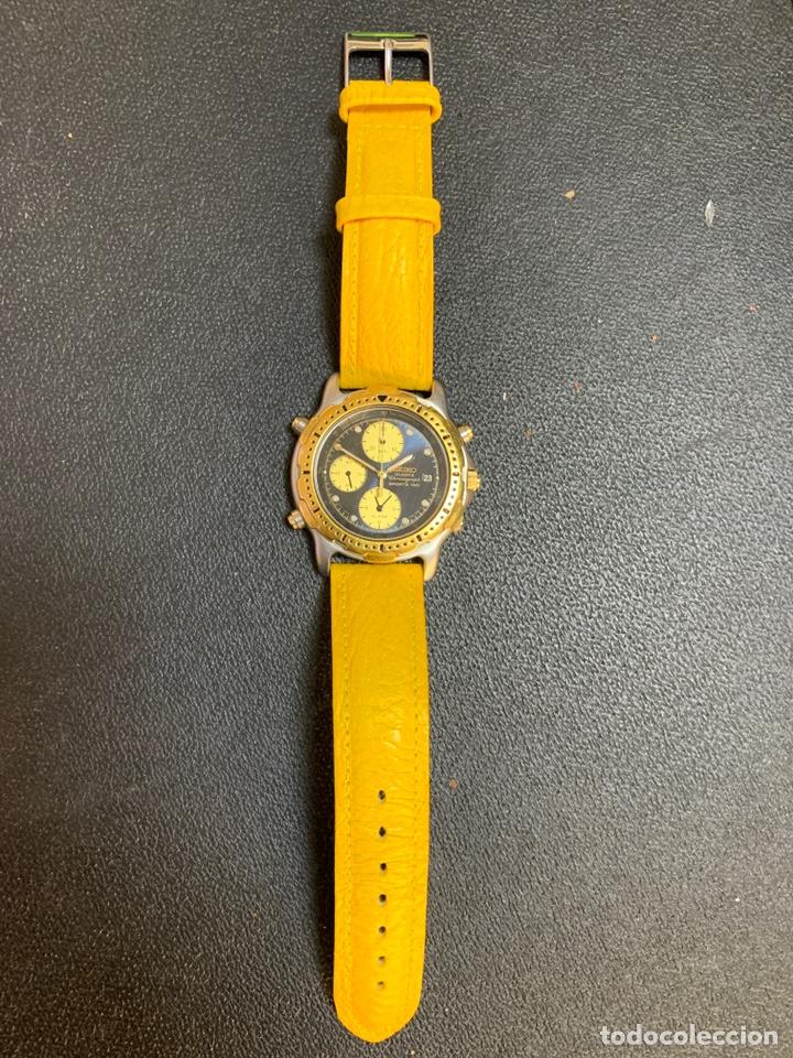 Relojes - Seiko: Seiko Sports 150 7T32 F020 chronograph vintage hombre espectacular funcionando de colección - Foto 3 - 221276061